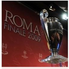 Il trofeo della UEFA Champions League (©UEFA)